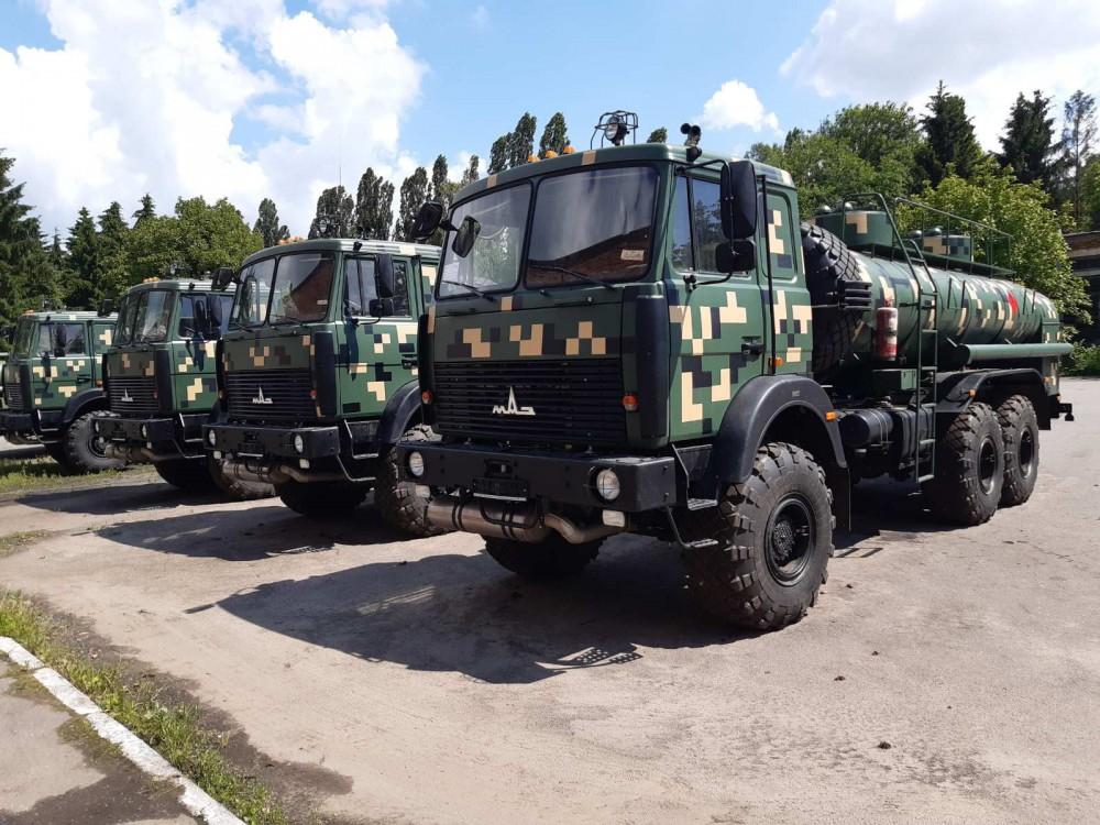 Українська армія отримала нову партію вінницьких автозаправників - www.45emp.com.ua