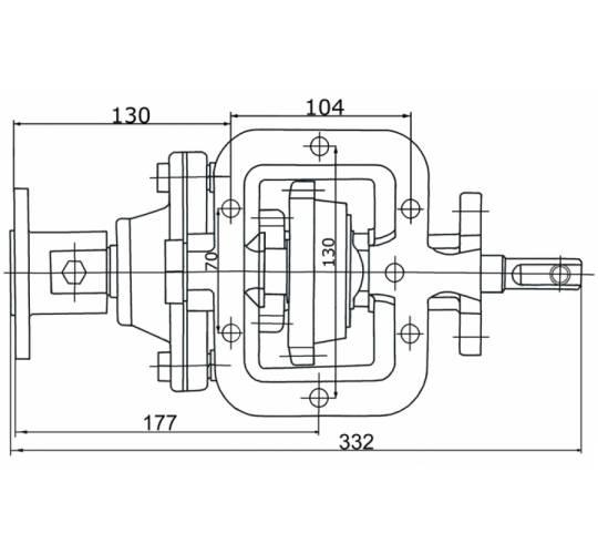 Коробка відбору потужності АЦ-4,8-3309-01-110. Фото 2