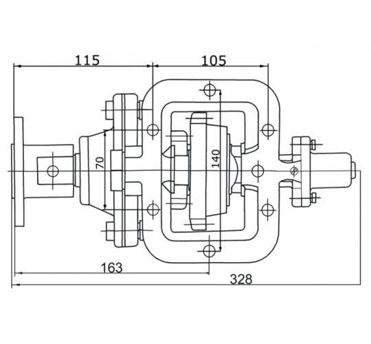 Коробка відбору потужності АЦ-8,7-5320/01.070. Фото 2