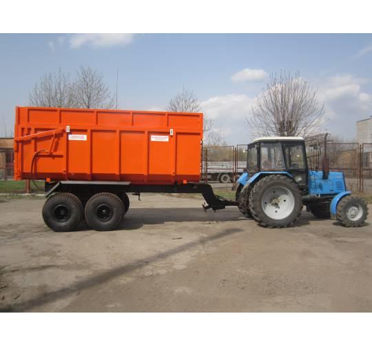 Причіп самосвальний тракторний ПСТ-10. Фото 2